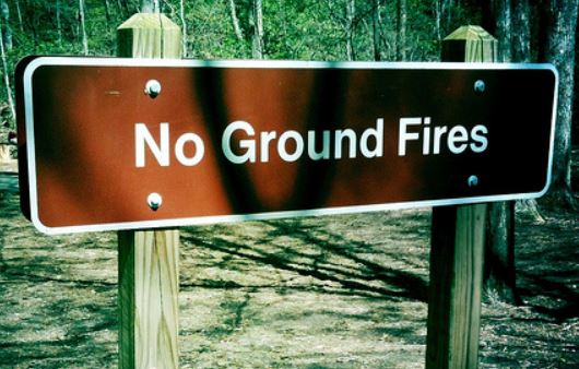 No Ground Fires