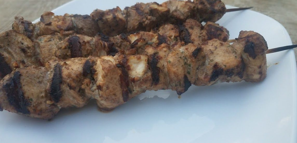 Italian Chicken Kabobs