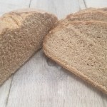 whole wheat bread sliced