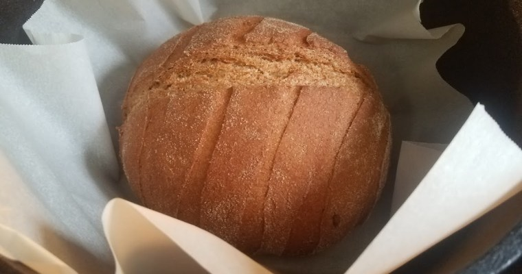 Whole Wheat Dutch Oven Bread