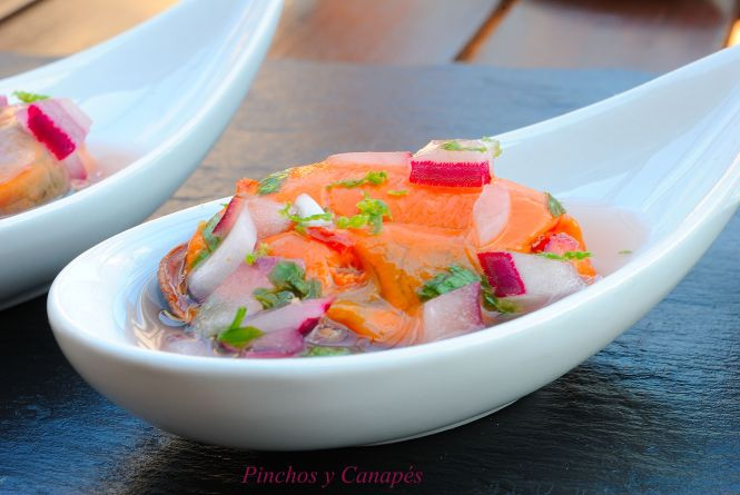 cevichedemejillonescanapes