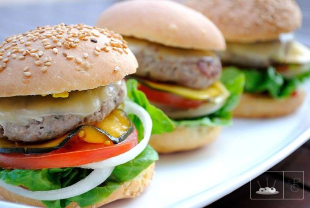 hamburguesaschampiñones