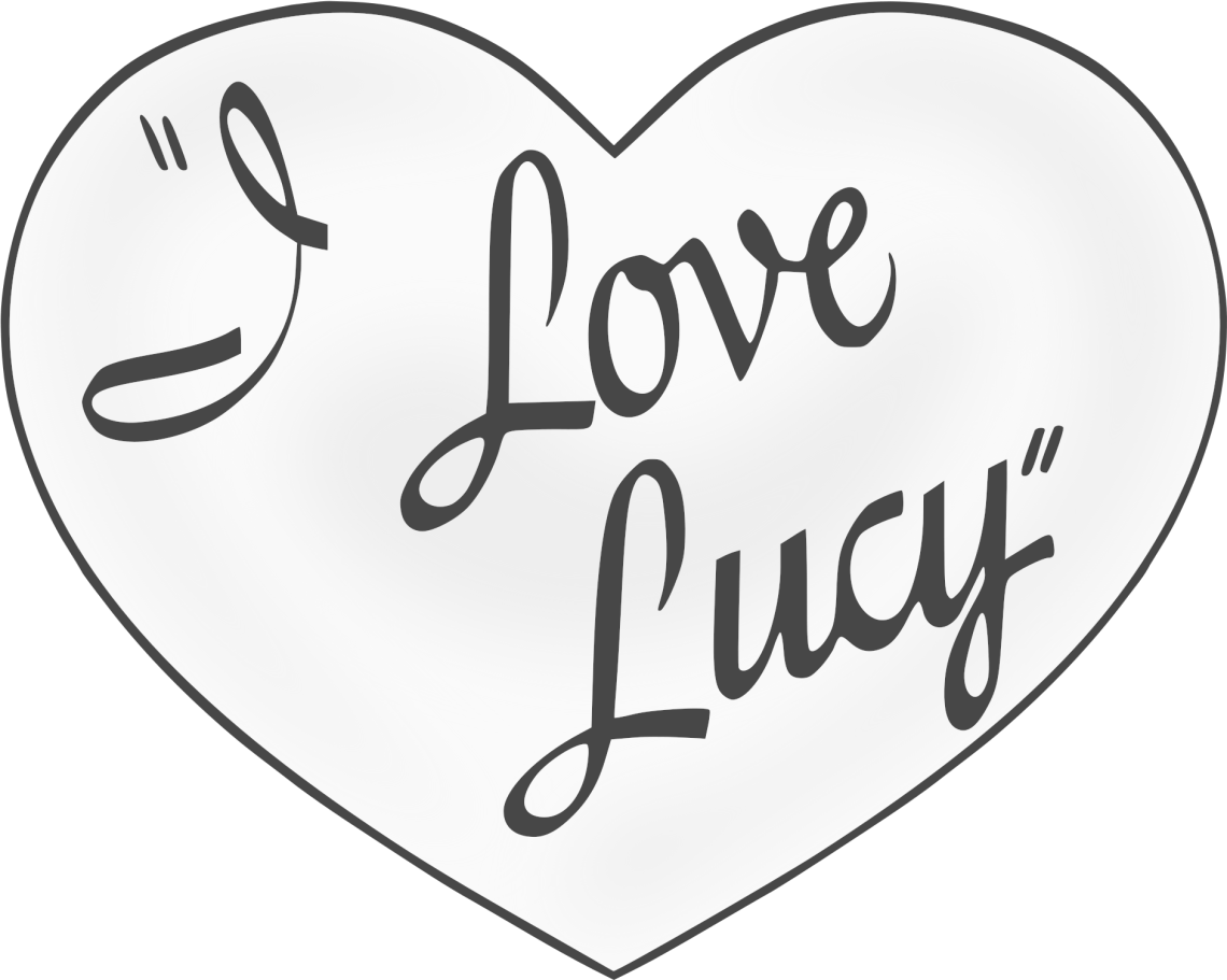 Download I Love Lucy Title - Love Lucy Title Clipart - Full Size ...