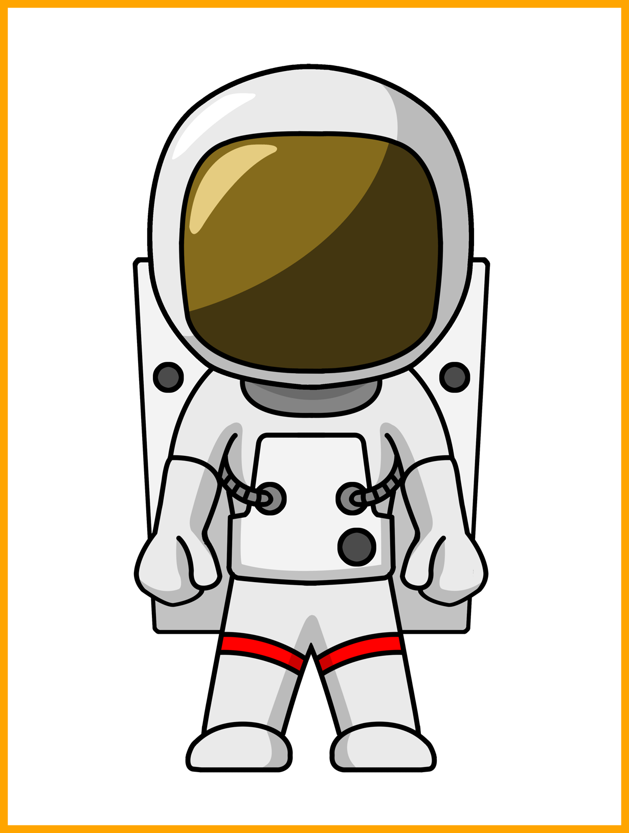 Appealing Astronaut Coloring Pages Etkinliklerim Pic Cartoon Astronaut Clipart Full Size Clipart 312055 Pinclipart
