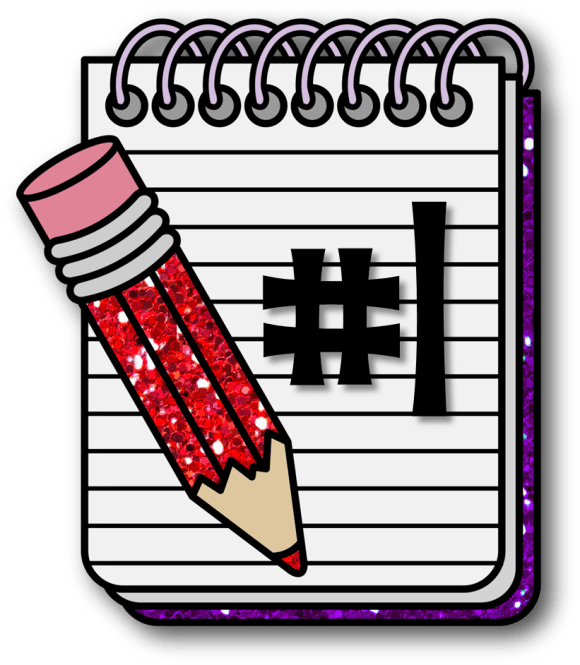 Notebook Clipart Compostion Png Download Full Size Clipart 847986 Pinclipart