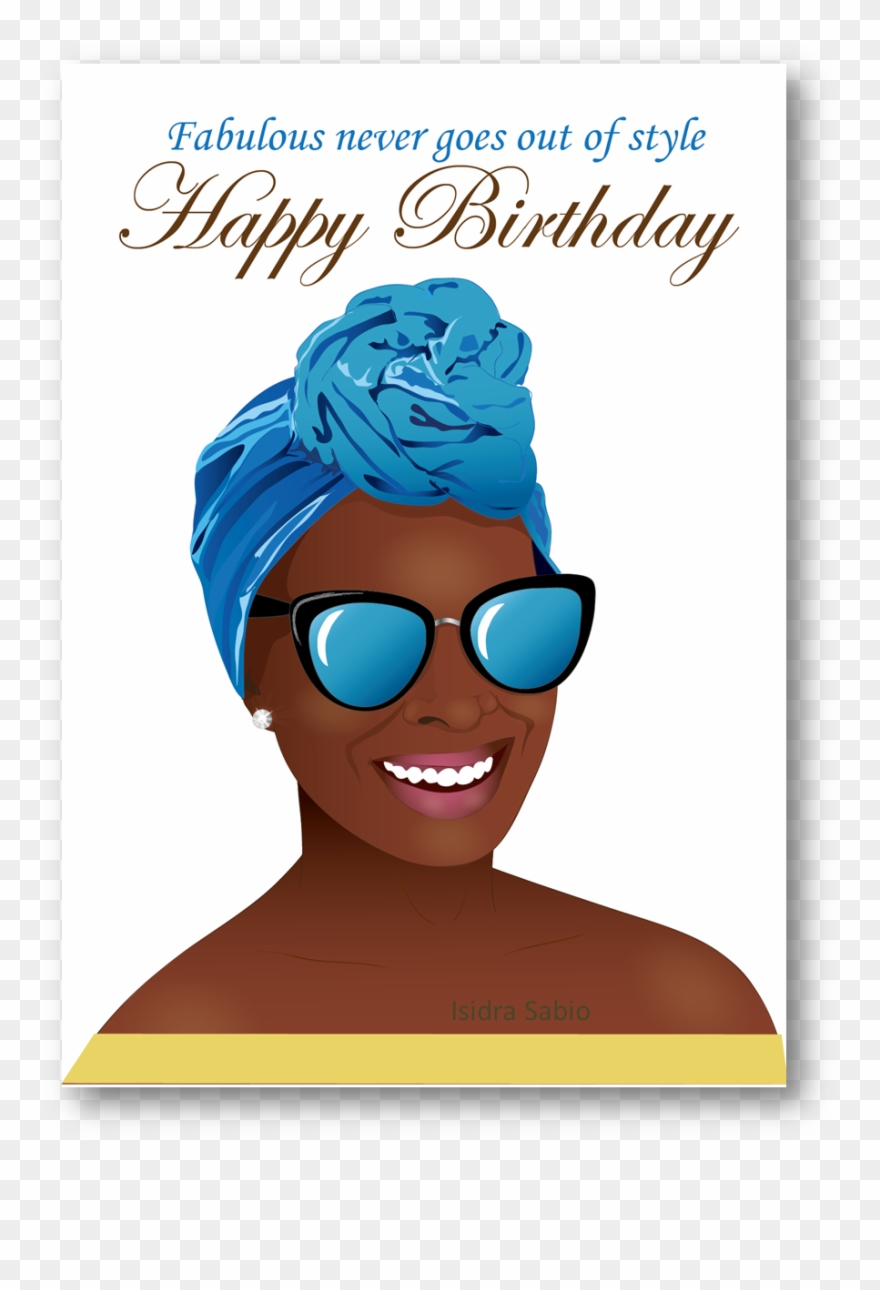 Happy Birthday African American Clipart Greeting African American Happy Birthday Black Woman Png Download 7472 Pinclipart