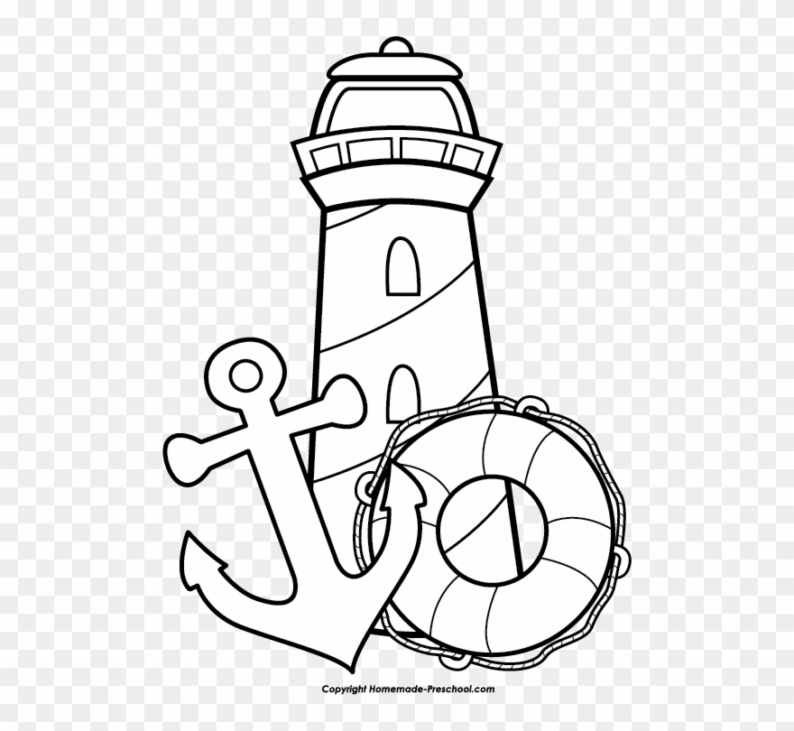 Click To Save Image National Lighthouse Day Coloring Pages Clipart 9383 Pinclipart
