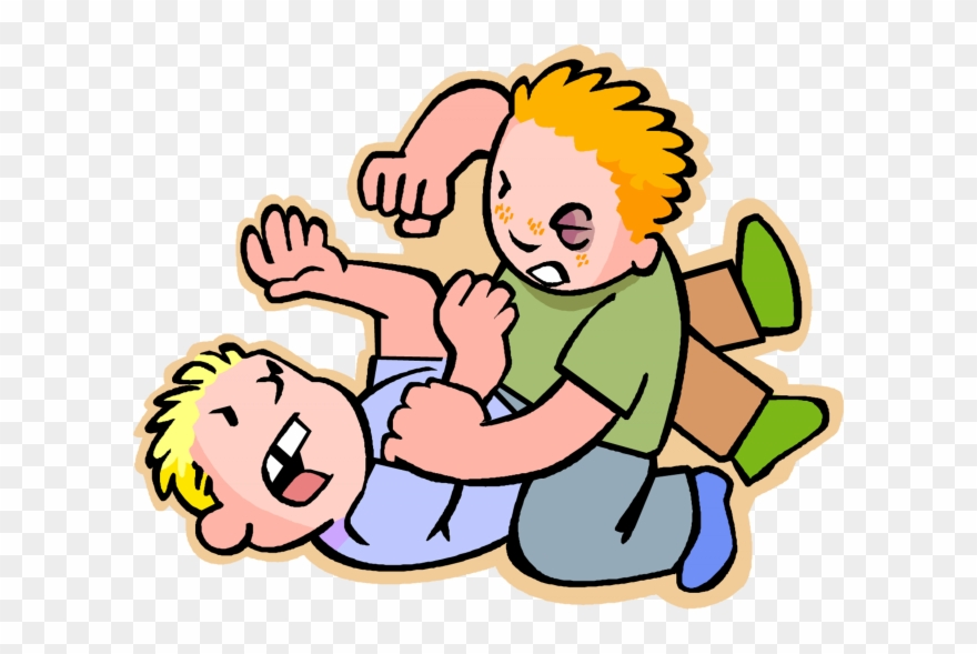 No Siblings Cliparts Hurting Someone Clipart Png Download
