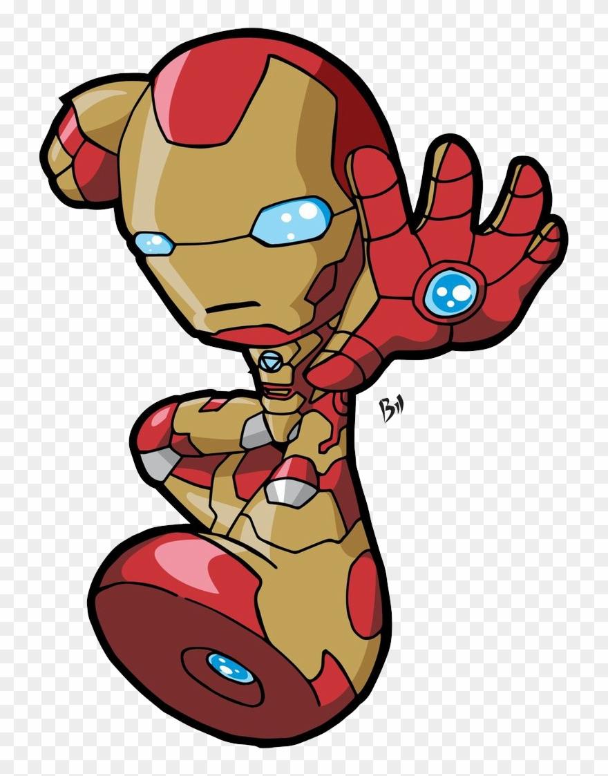 Chibi Iron Man 3 Clipart 124229 Pinclipart