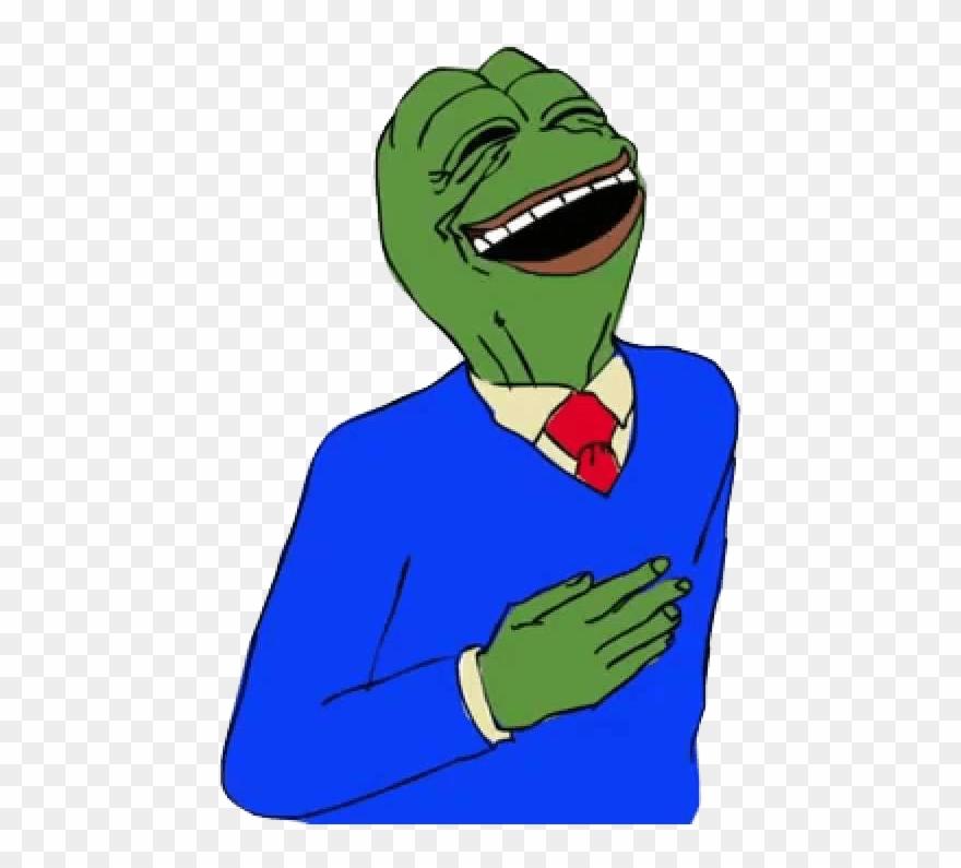 Happy Smug Pepe Victoria Secret Pepe Meme Clipart 1419261