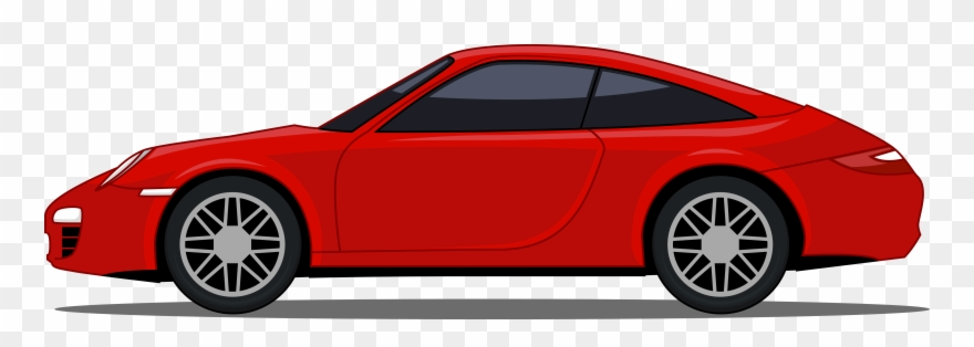 Cartoon Sport Car Sports Car Cartoon Png Clipart 1749268 Pinclipart