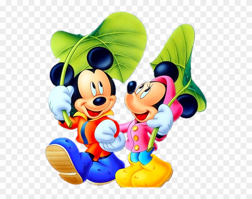 Tubes Dessins Animes Mickey Mouse And Minnie Transparent Background Png Clipart 1900588 Pinclipart
