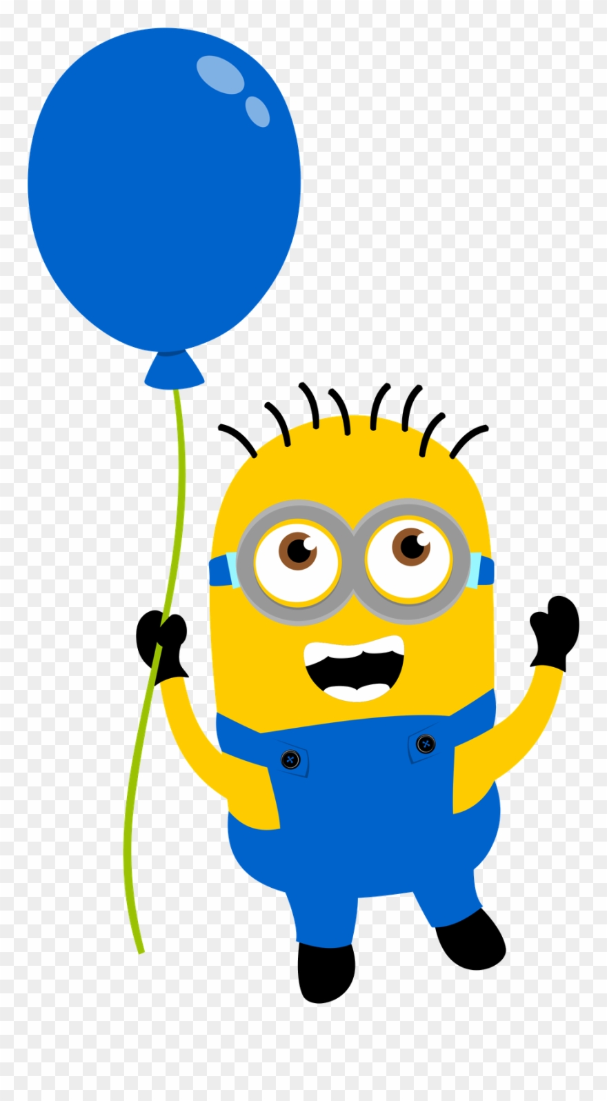 Png Library Stock Minions Birthday Clipart Minions With Balloons Png Transparent Png 213498
