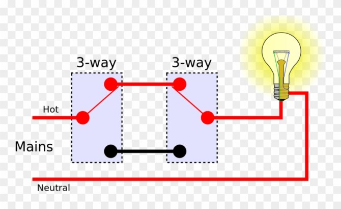 two switches to one light wiring  multiple lights 3 way