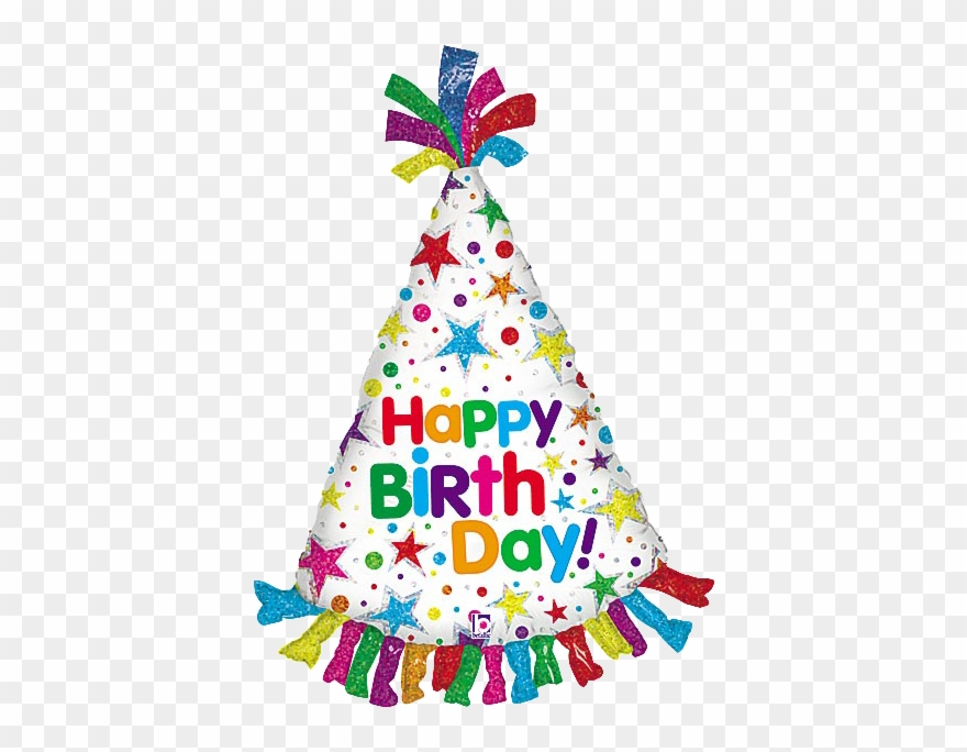 Happy Birthday Party Hat Clipart 3447523 Pinclipart