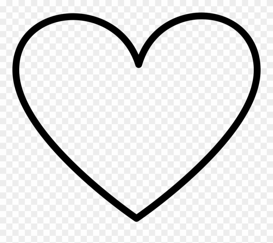 Download Download Png File Svg - Love Heart Outline Transparent ...