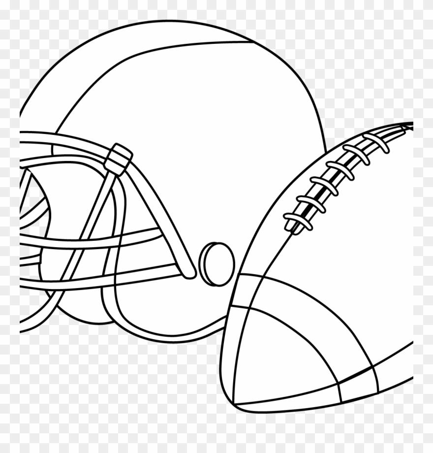 Football Helmet Coloring Pages Preschool Denver Broncos Free Printable Football Coloring Pages Clipart 3557368 Pinclipart