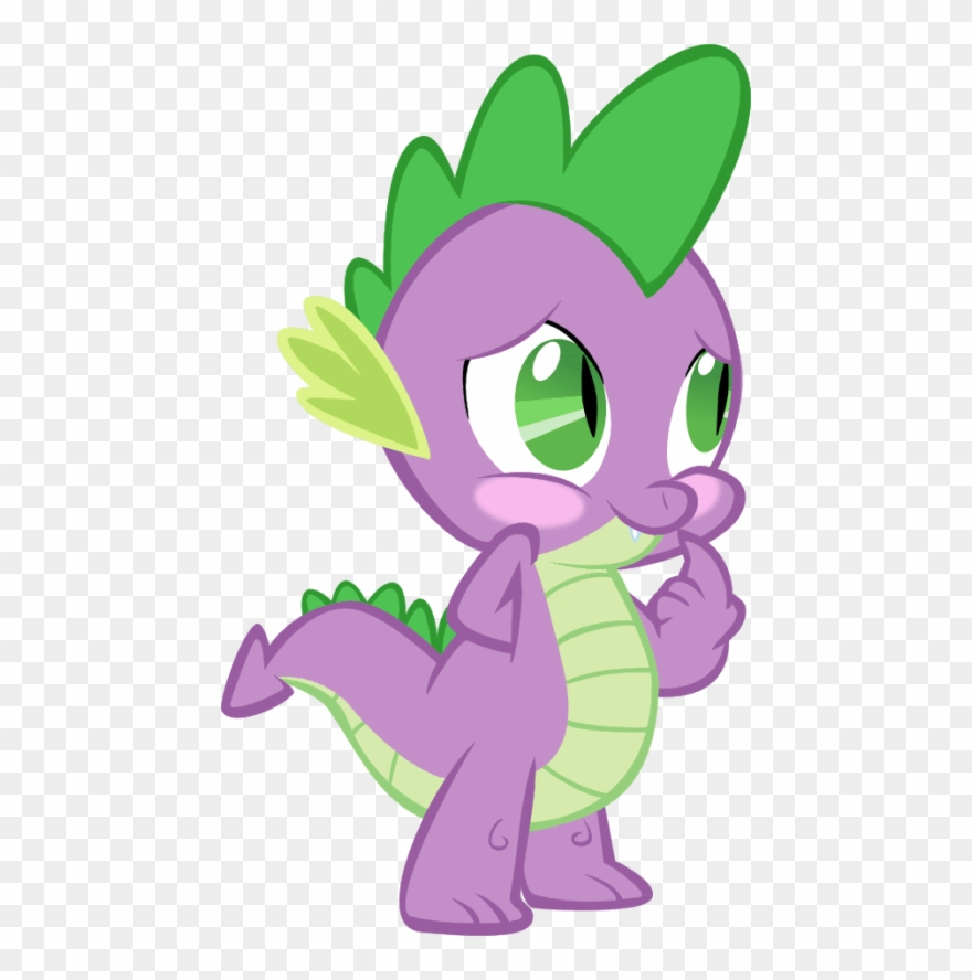 Free Png Download My Little Pony Spike Naked Png Images Spike The Dragon Angry Clipart 3689259 Pinclipart