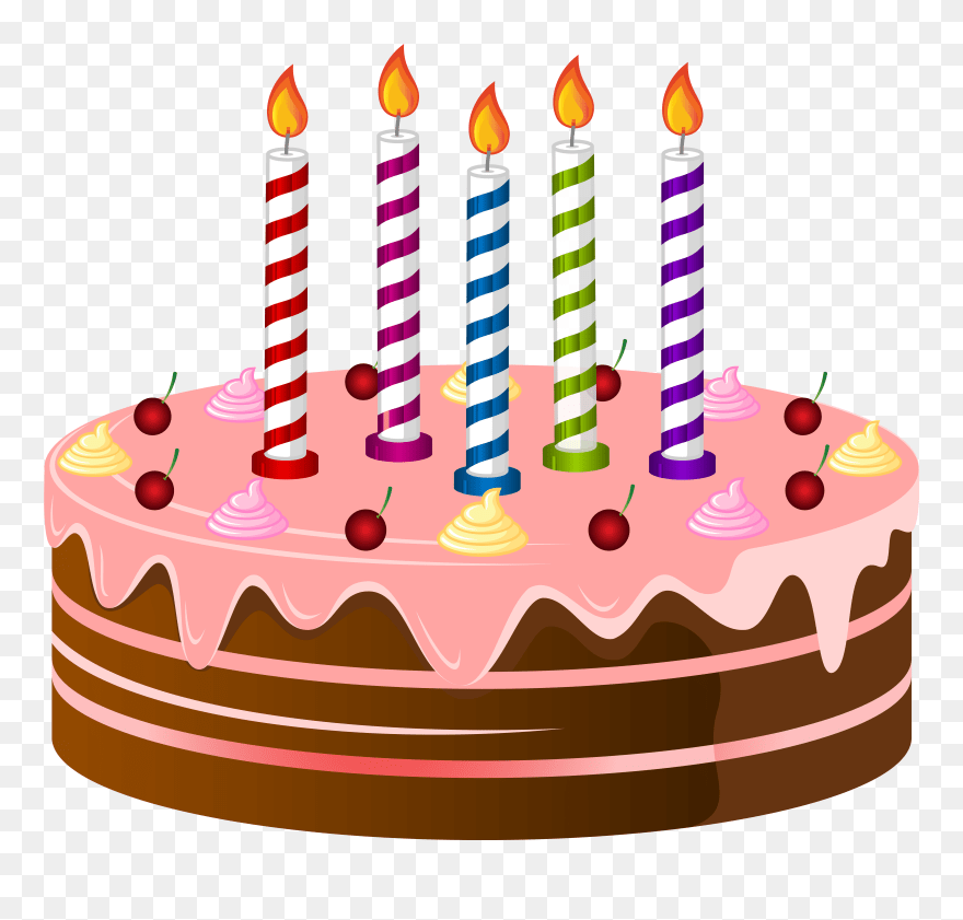 Birthday Cake Clip Art Clipart Cliparts For You Transparent Background Birthday Cake Clipart Png Download 5513037 Pinclipart
