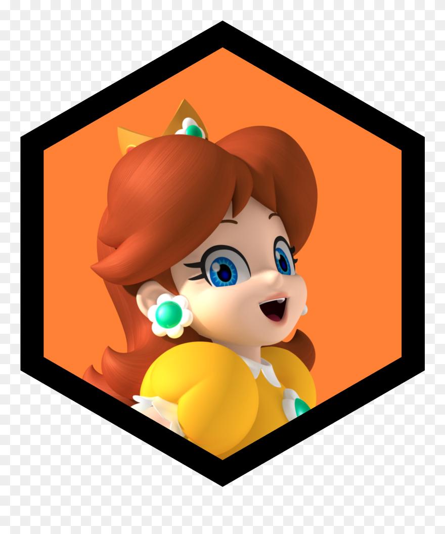 Transparent Barnyard Roundup Clipart Princesa Daisy Mario Bros Png Download 5528387 Pinclipart