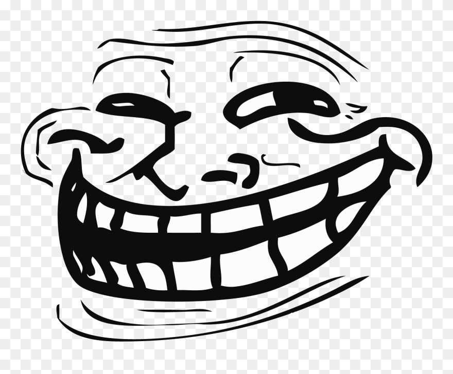 Troll Face Png Troll Face Clipart 5742718 Pinclipart