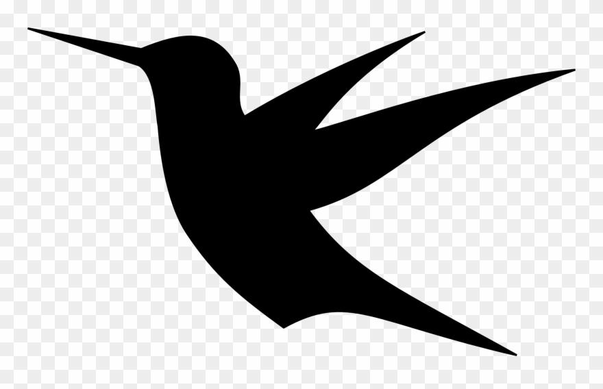 Birds Drawing Hummingbird 4 Clip Art Flying Bird Bird Silhouette Simple Png Download 82848 Pinclipart