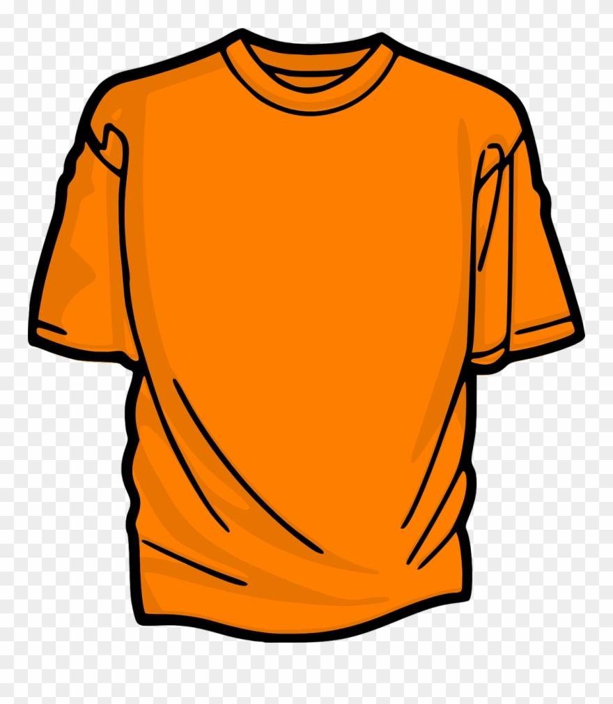 Orange Shirt Clipart Png Download 921083 Pinclipart