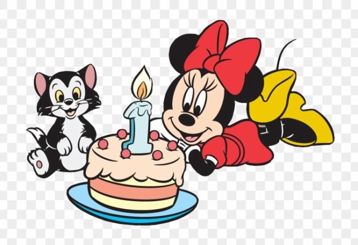 Minnie Mickey Minnie Mouse Birthday Cake Happy Birthday Disney