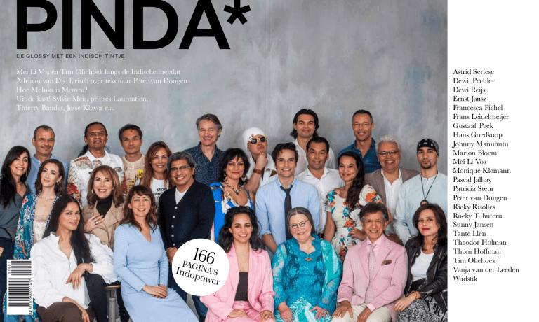 PINDA* – de glossy met een Indisch tintje – ligt in september in de winkel. Liever in uw brievenbus? Bestel 'm alvast