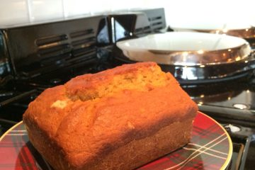 Pumpkin Spice Bread fresh from the AGA