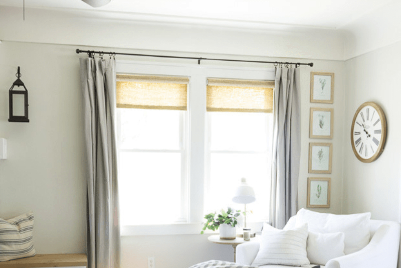 picture about Printable Window Shades identify Woven Roller Colours - The Best Window Masking - Pine and