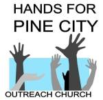 Logo for Hands for Pine City Outreach Church