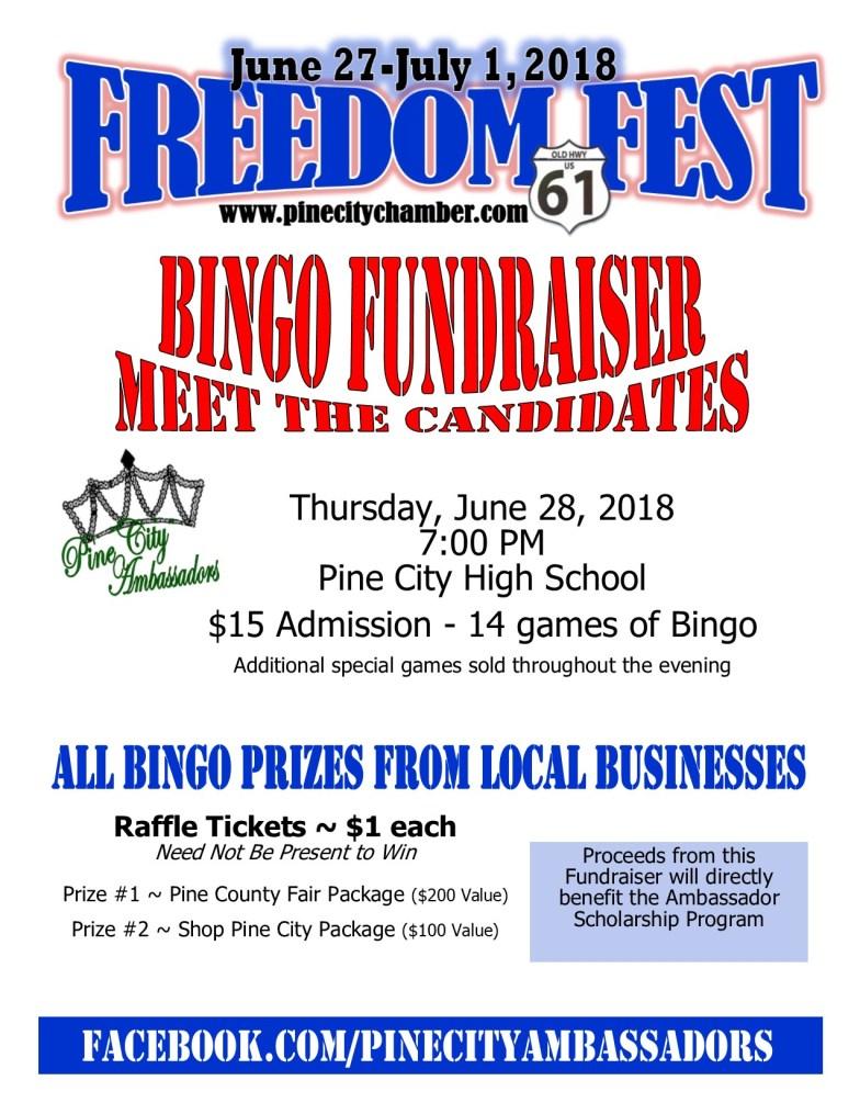 June 28 Ambassador Bingo Flyer