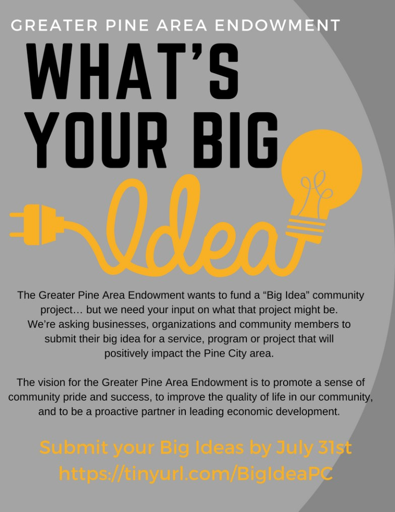 What's Your Big Idea Promotional Flyer