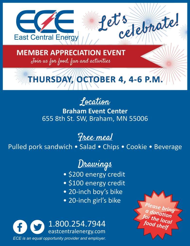 ECE Member Appreciation Event October