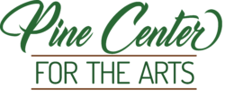 New logo for Pine Center for the Arts