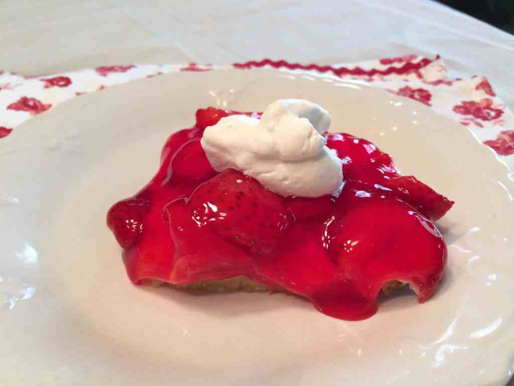 Strawberry Pizza Dessert