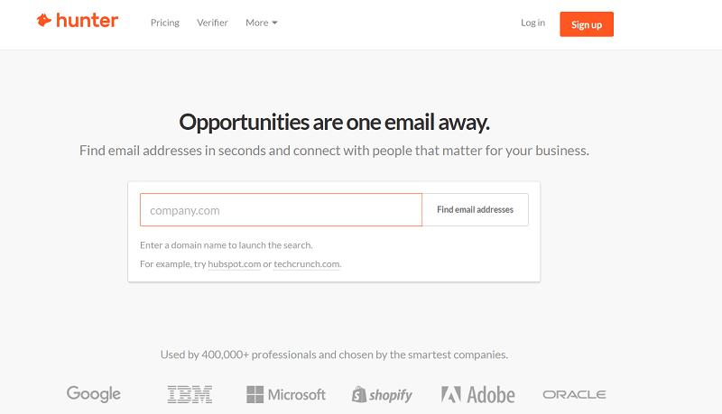 Büyük Şirketlerin E-Posta Adreslerini Bulmak İster Misin? Hunter ile e-posta bulma!