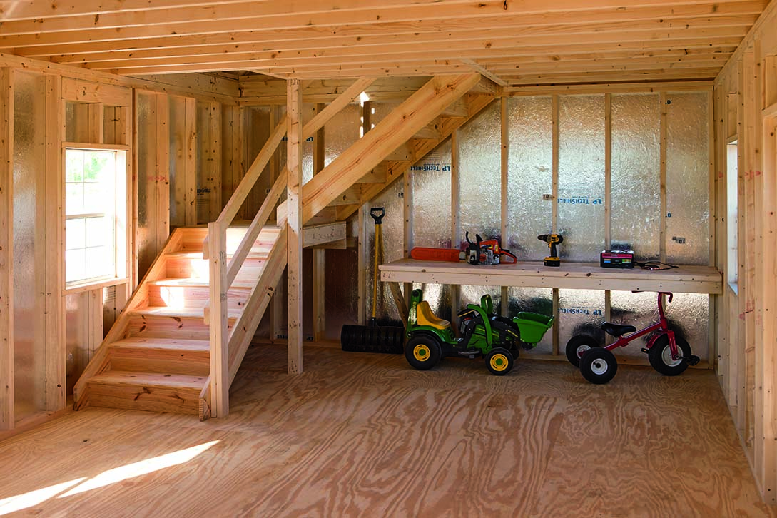 24x24 Wood Shed Plans