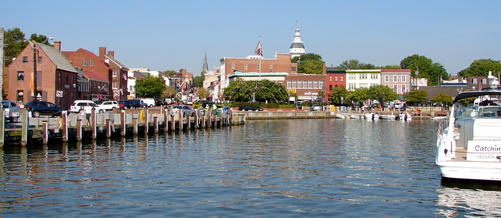 Dock Street - downtown Annapolis waterfront