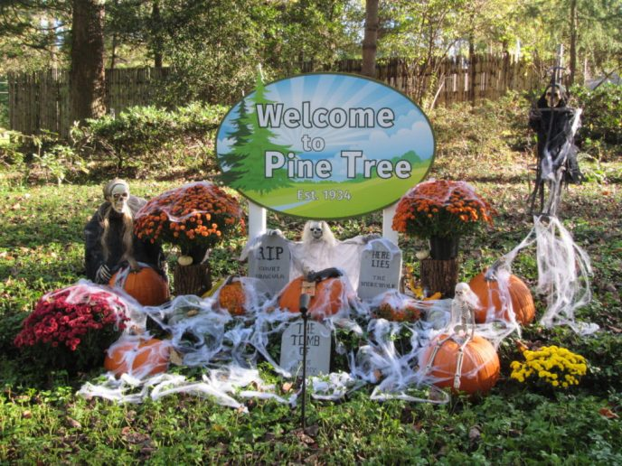 Halloween at Pine Tree Associates Nudist Club