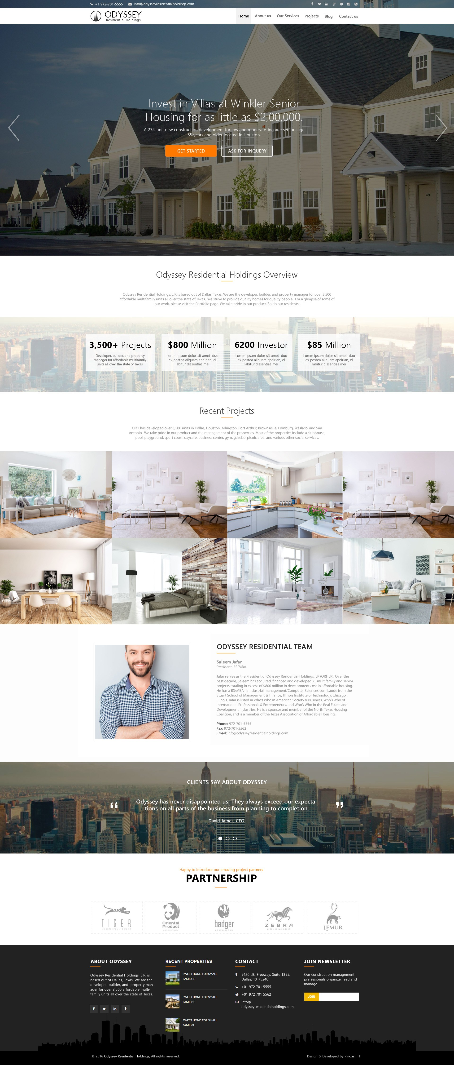 Odyssey Residential Holdings