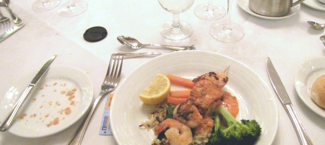 Royal Caribbean's Liberty of the Seas: Fine Dining at Michelangelo