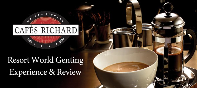 Cafés Richard –  Mon amour pour le café…