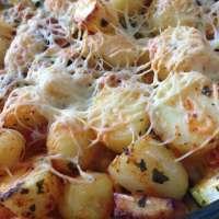 Gemakkelijke ovenschotel met krieltjes en kip