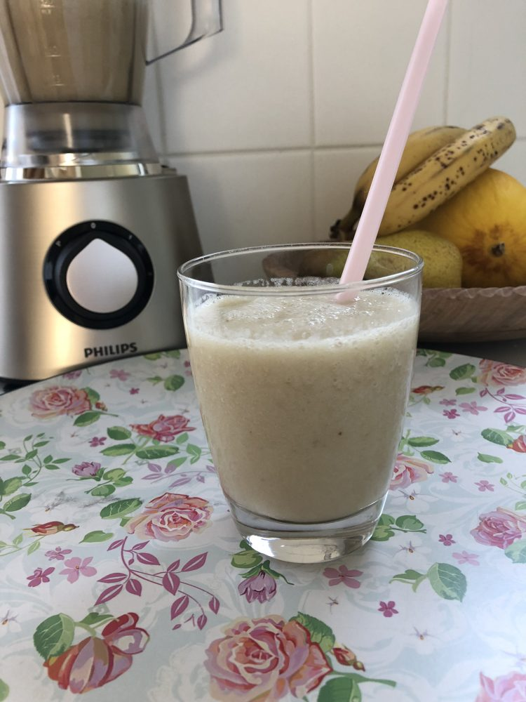 Fruit smoothie maken met Phillips foodprocessor