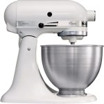KitchenAid Classic K45SSEWH - Keukenmachine - Wit
