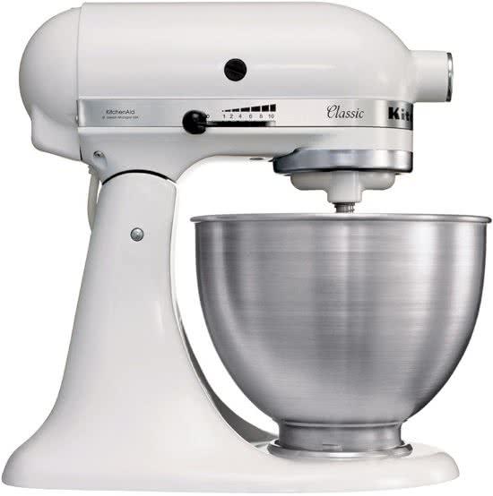 KitchenAid Classic K45SSEWH - Keukenmachine - Wit