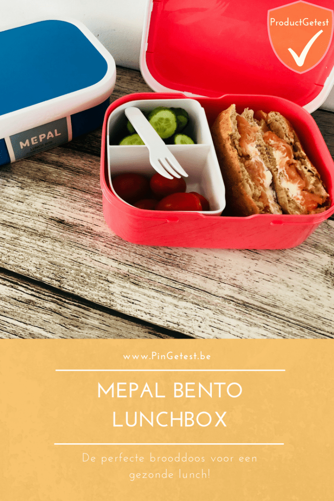 Mepal bento lunchbox review - brooddoos broodtrommel idee - ProductGetest - PinGetest