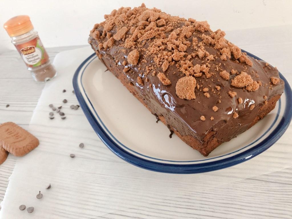 Speculaascake met appel en chocolade recept - cake met speculaaskruiden en appel-2